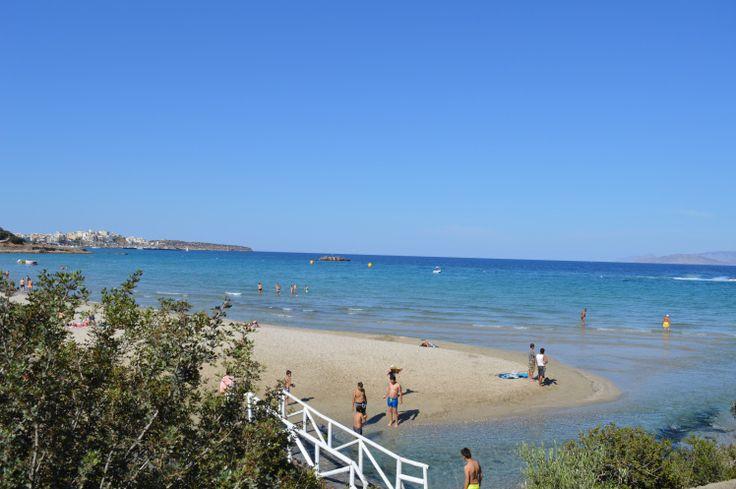 Agios Nikolaos - showing friends around my hometown. crete