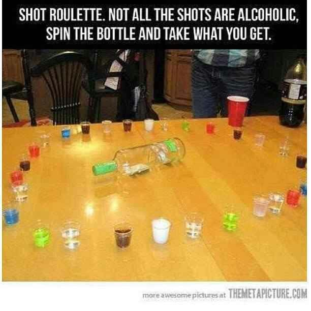 Could change this to be age appropriate.  (Different sodas for teenagers)  Or even can take a snack/candy approach to make it even less like a drinking game.