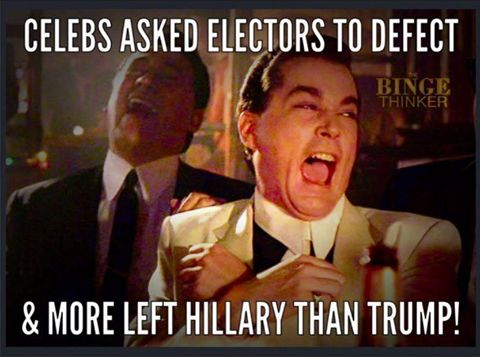 Donald Trump lost only two Electors.  Hillary lost FIVE!!!