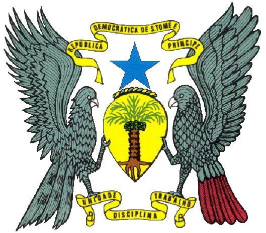 Stema Republicii Democratice São Tomé and Príncipe
