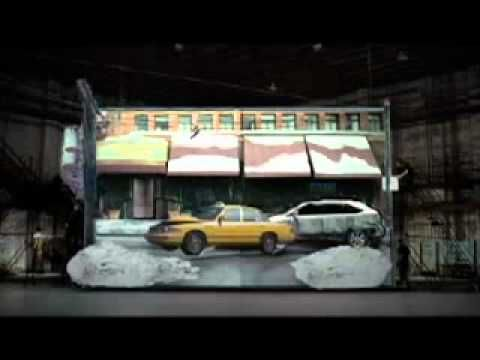 Lexus Pop Up Book Commercial