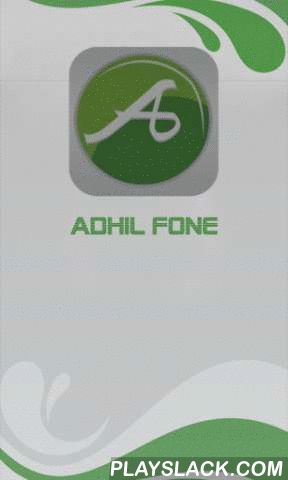 AdhilFone  Android App - playslack.com , Making International calls has no longer been a costly affair owing to the availability of international calling cards in markets. With the use of these calling cards the tariff rates or expenses of calls are slashed so effectively that the user enjoys overseas calls or long distance calls without making a hole in one's pocket. Anyone can make international call with these cards without thinking twice. So, if you to want to avail yourself of the…