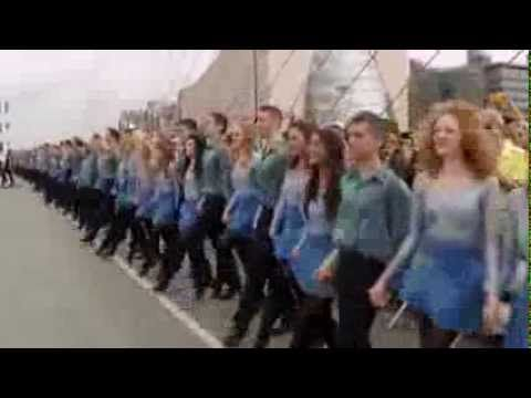 ▶ Riverdance Longest Line World Record 21st July 2013 - YouTube