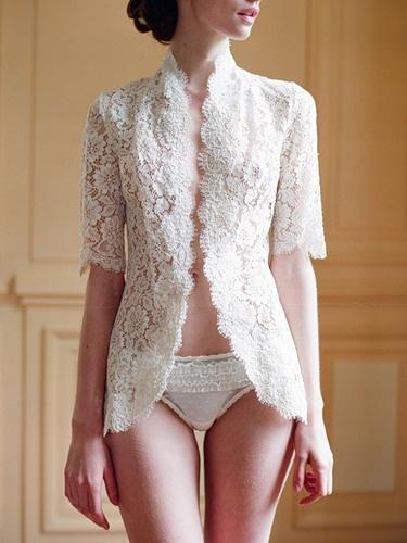 lace jacket:)