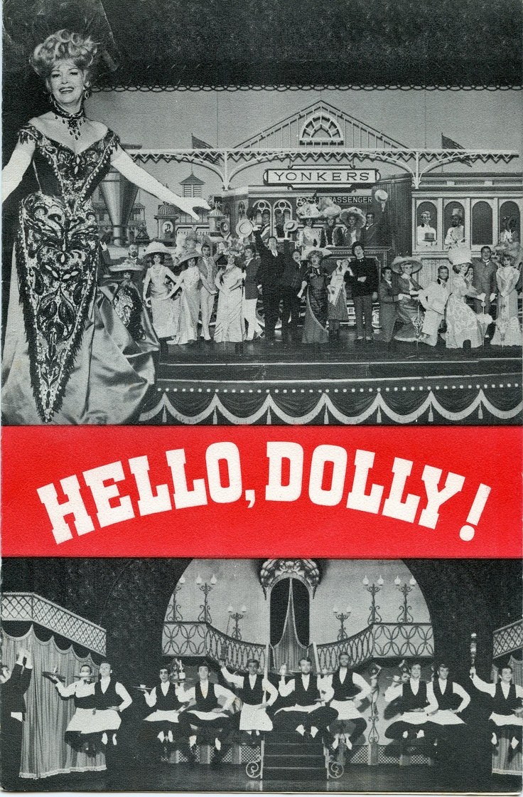 Hello Dolly With Betty Grable At The Riviera Hotel In