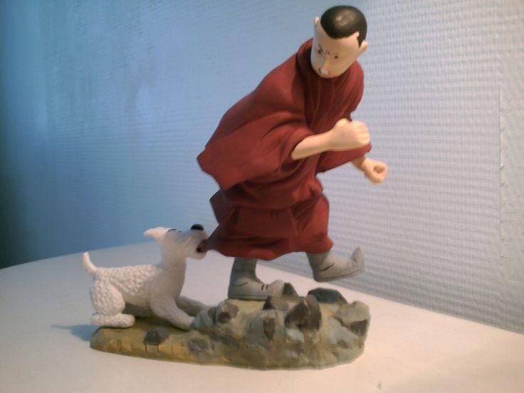Tintin au Tibet.