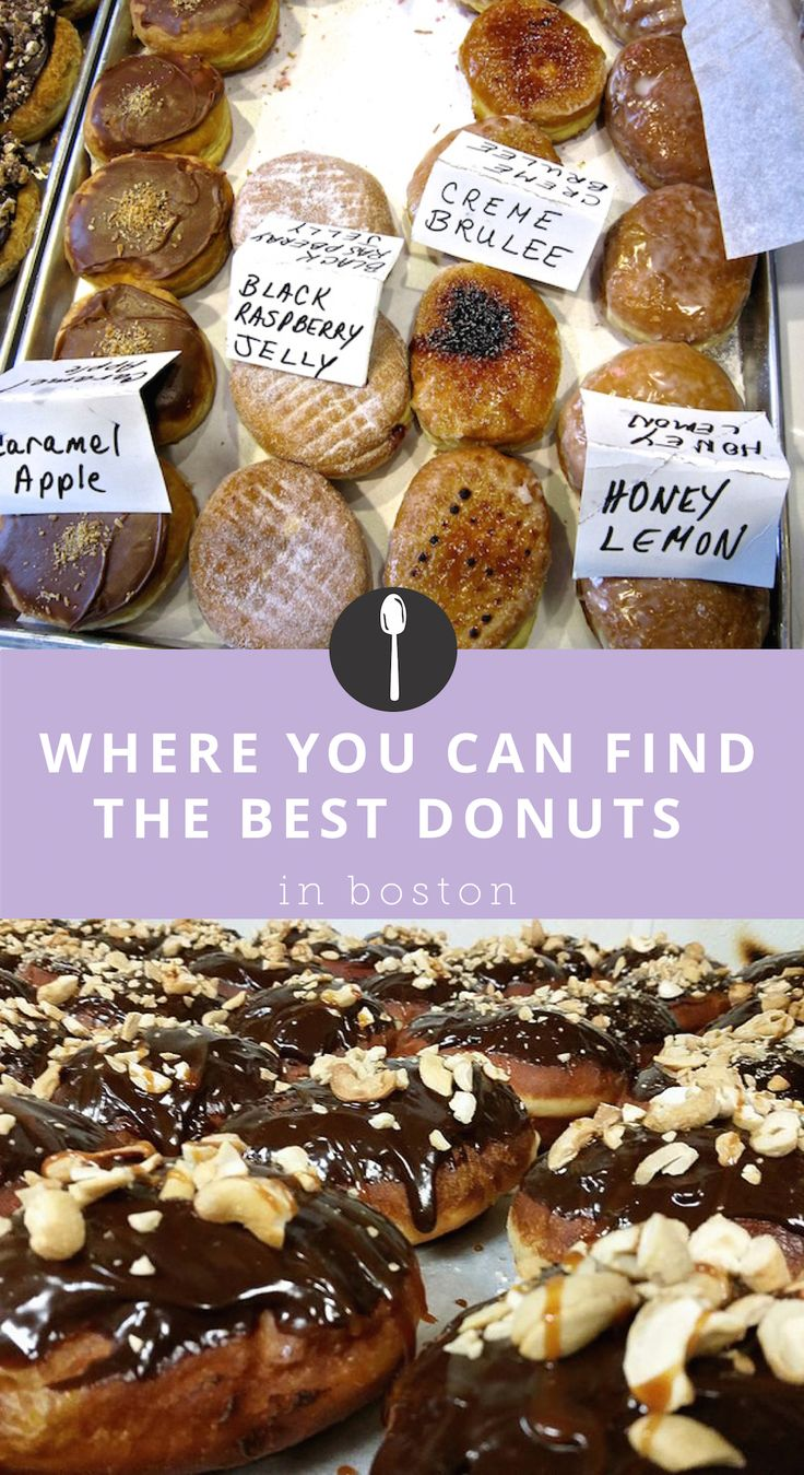 Where to Find the Best Donuts in Boston