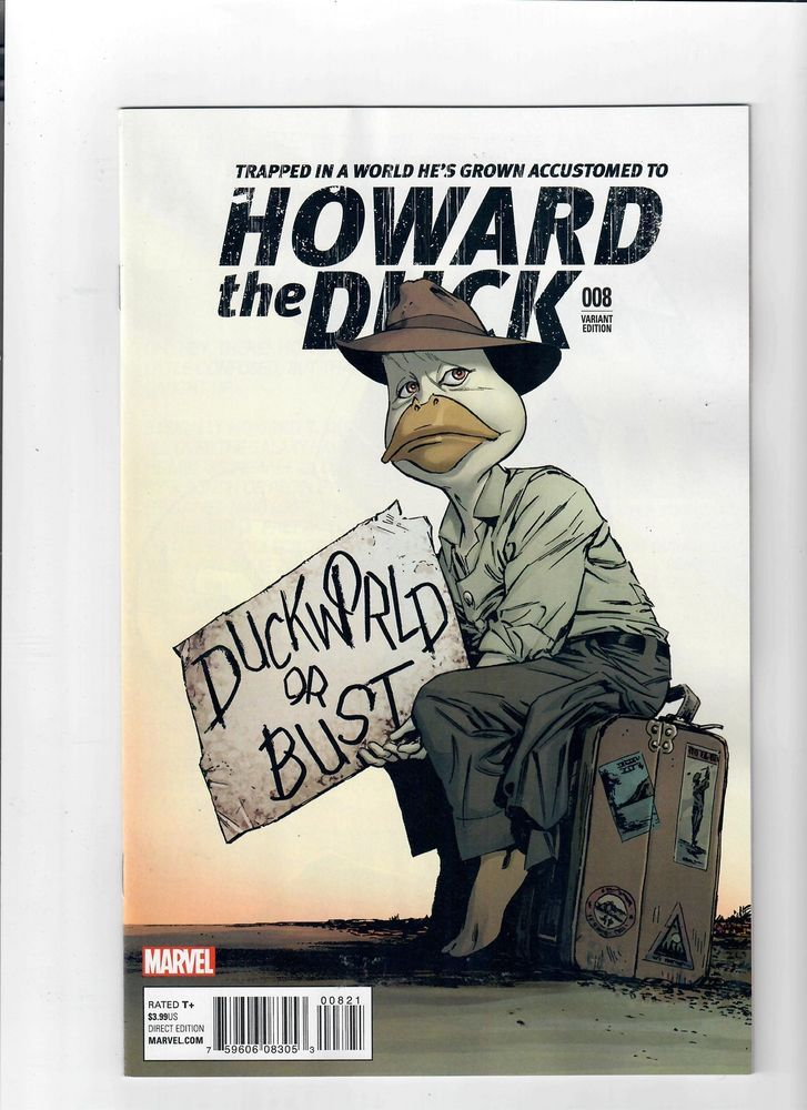 "HOWARD THE DUCK #8 Ltd 1:15 ""Classic"" variant by Butch Guice! NM  http://www.ebay.com/itm/HOWARD-THE-DUCK-8-Ltd-1-15-Classic-variant-by-Butch-Guice-NM-/301978265754?roken=cUgayN&soutkn=HpSgxD"