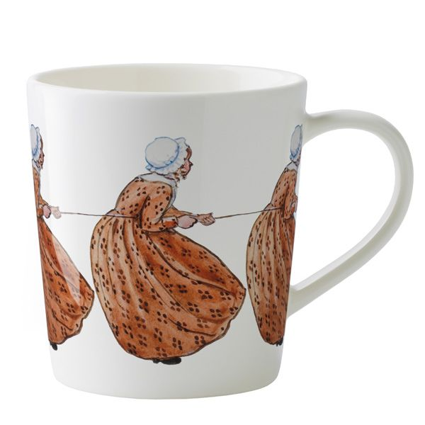 Elsa Beskow mug, Aunt Brown, by Design House Stockholm.