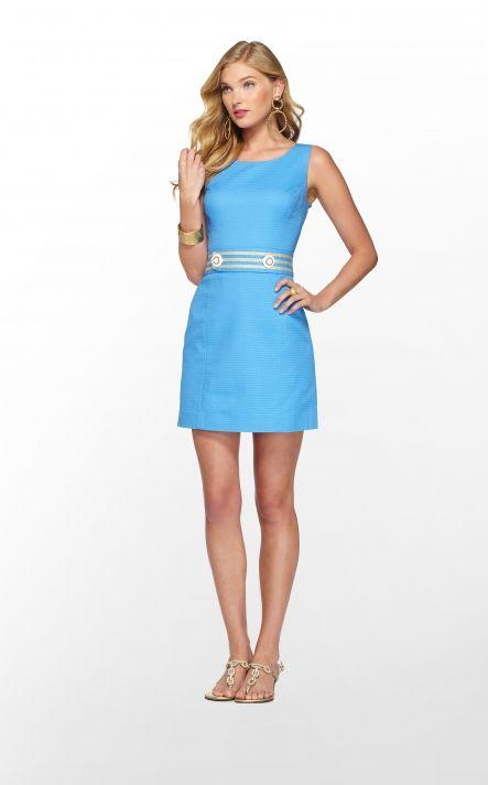 Lilly Pulitzer Kirkland Dress, Tide Blue $118.00