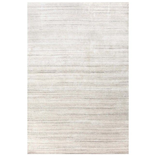 Icelandia White Hand Knotted Rug