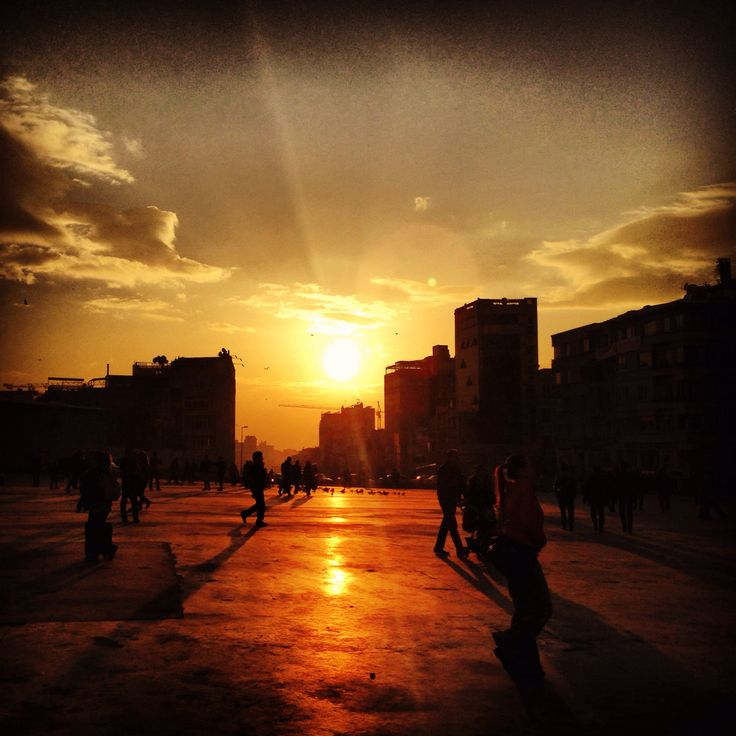 Gün batımı ! #sunset
