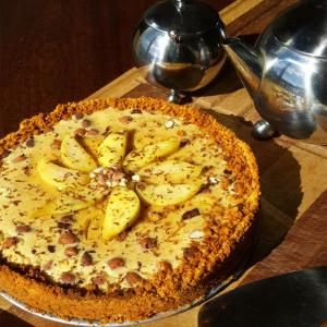 Rocky road pear and Amarula tart | Food | Pinterest