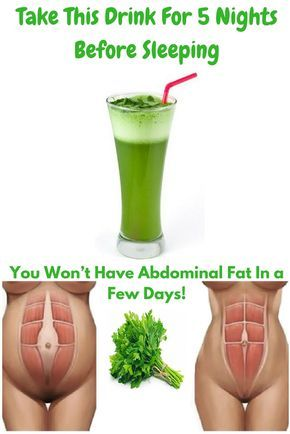Take This Drink For 5 Nights Before Sleeping and You Won\u2019t Have Abdominal Fat In a Few Days! #weightlossbeforeandafter