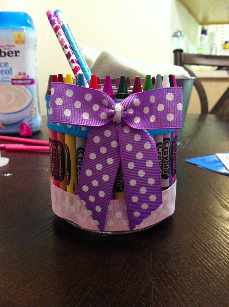 Pin or pencil jar great end of year teacher gift!