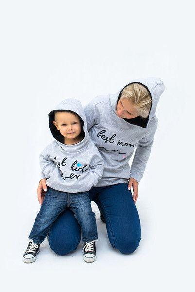 Zestaw- Bluzy ELASTAN S,M,L,XL oraz 74-92 - pestka-sklep - Bluzy z kapturem dla dzieci