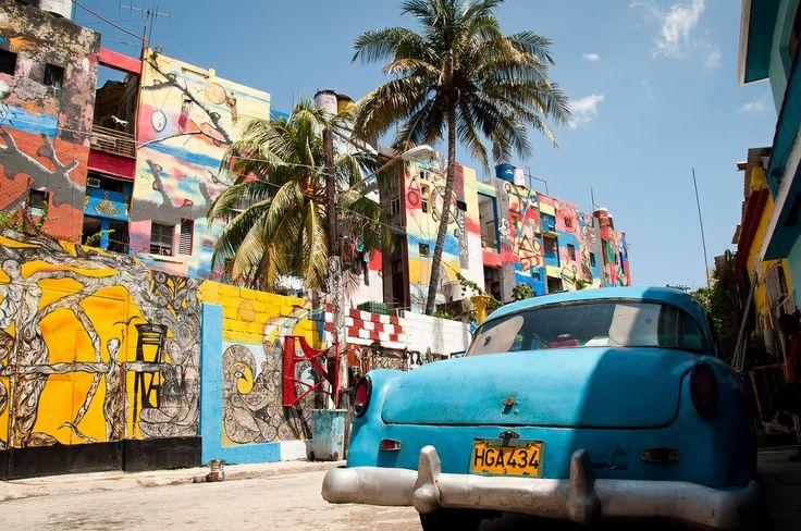 """""""Vista Callejón de Hammel, Havana"""" vía Harlan Crowder"""