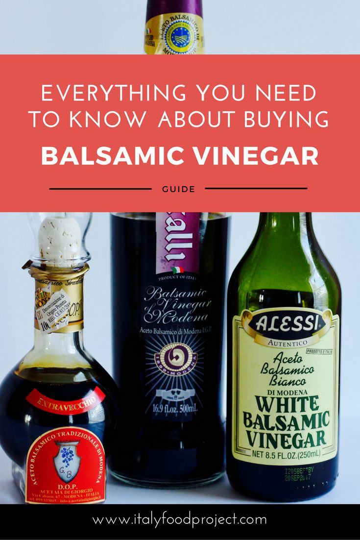 Guide to Buying Balsamic Vinegar