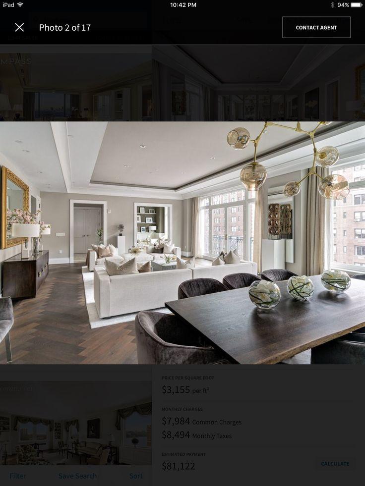 Upper East Side Dressing Rooms Modern Living Master Bathrooms Park Avenue Parks Gray Interior Design