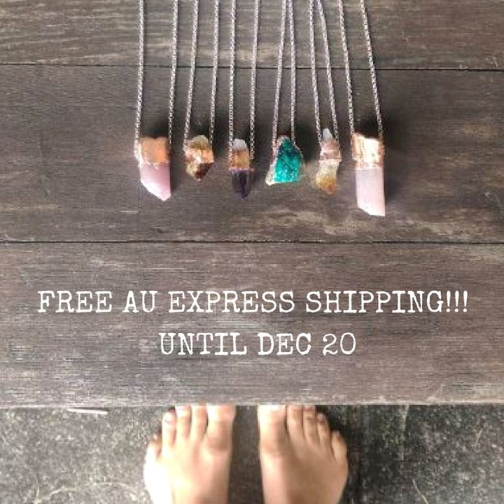Forgot anything? FREE AU EXPRESS SHIPPING on everything!!! until Dec 20! thewovendream.com use EXPRESS4XMAS at the checkout #freeexpressshipping #gifts #thewovendream