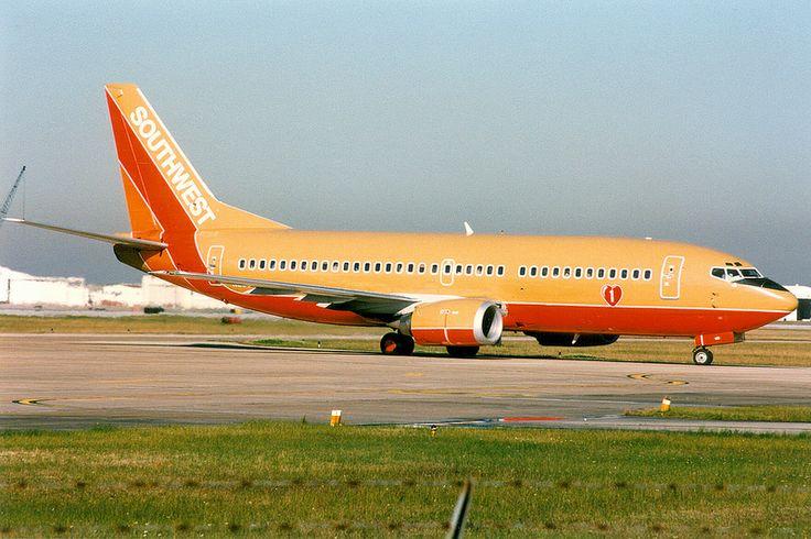 Southwest Airlines, Boeing 737-300, N600WN, Houston Hobby