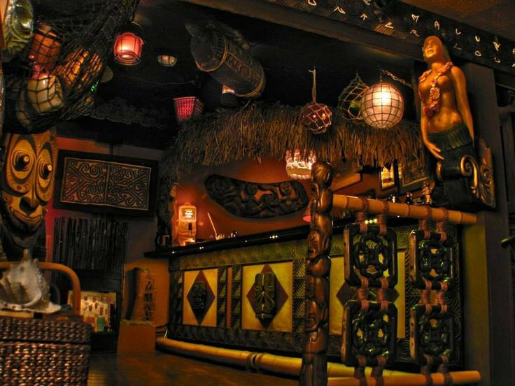 Deep in the Tiki Lounge