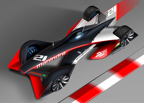 Mahindra Racing and Pininfarina Concept Formula E Designs Concept A