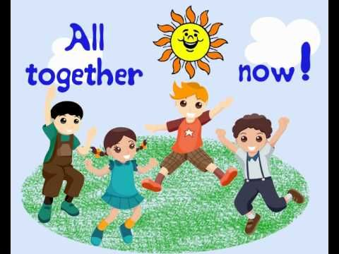 The Beatles - All together now (children version) - YouTube