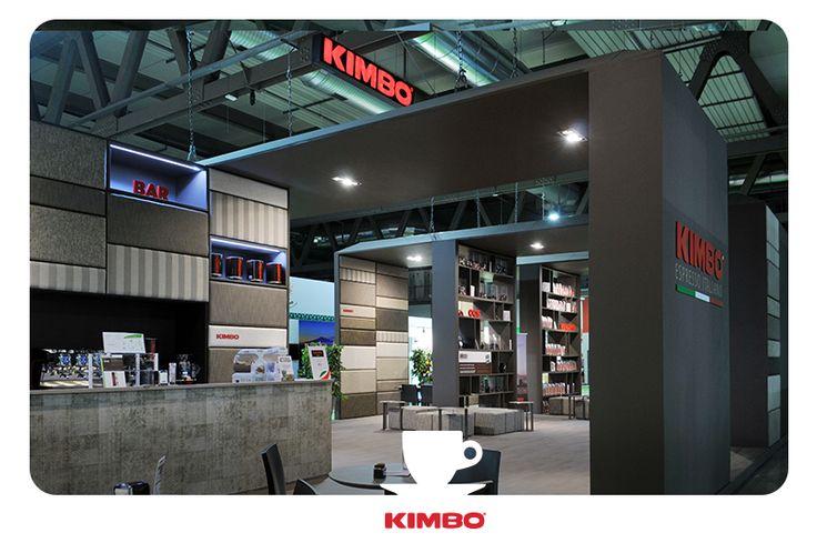 #Tuttofood2015: l'area bar del nostro stand espositivo in cui degustare le varie miscele del #caffè #Kimbo.