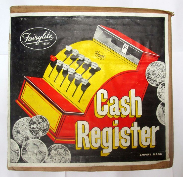 1950s Hong Kong FAIRYLITE Cash Register Empire Made Boxed RARE | eBay