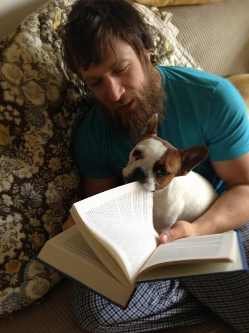 YES! Daniel Bryan and a puppy!