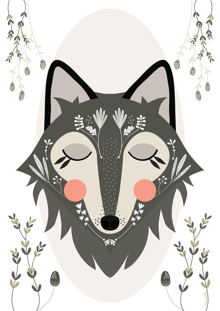 Blushing Fox | Mundobu: Illustrations