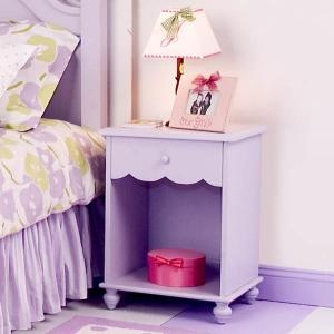 Purple Nightstand this colour to repaint my antique shelf