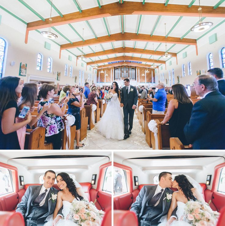 Photographer Saddle Brook  Wedding ceremony at St. Philip the Apostle Church in Saddlebrook, NJ. Captured by