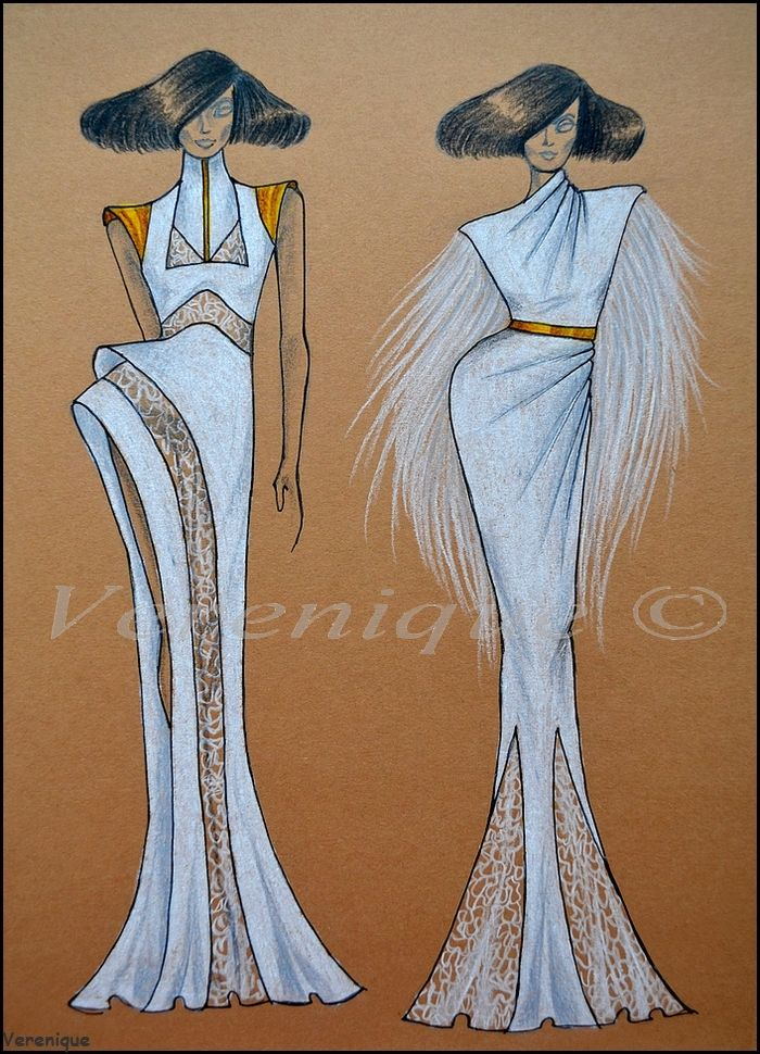 White gold collection 4. by Verenique