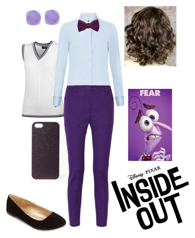 """""""Disney Pixar Inside Out - Fear"""" by briony-jae ❤ liked on Polyvore"""