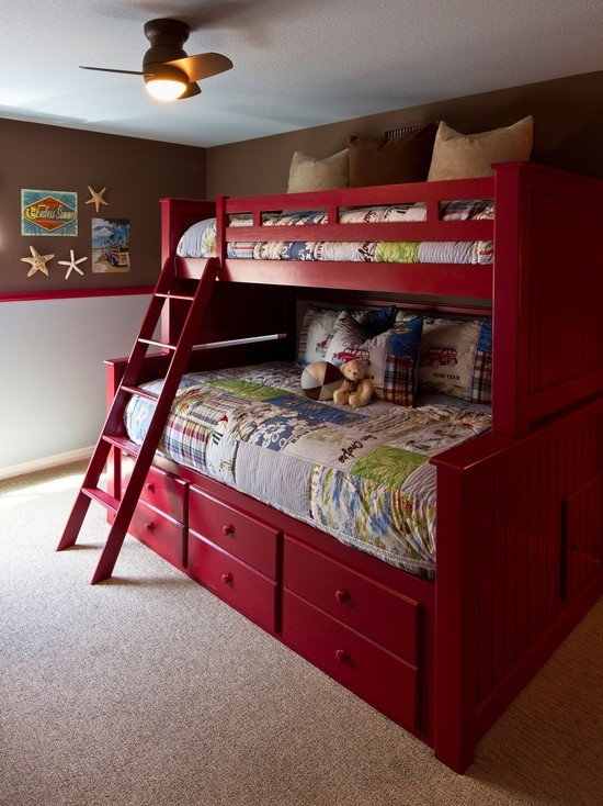 15 best images about double deck bed on pinterest child for Little kids room