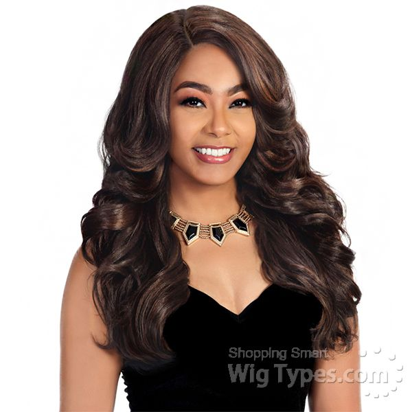Zury Sis Beyond Synthetic Hair Soft Swiss Lace Wig - BYD FP LACE H SIRI (4x4 free parting) [14251]