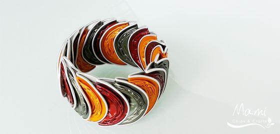 mami chips & crafts: Bracciale elastico con le cialde del caffè