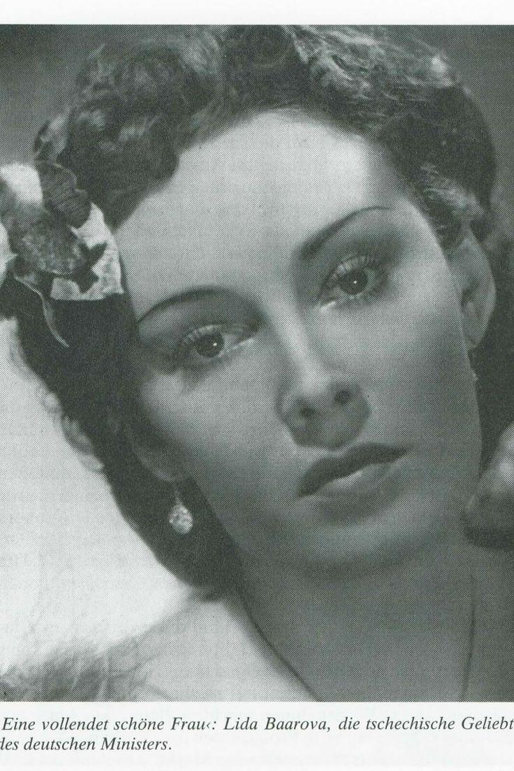 Lida Baarova - the favorite concubine of Goebbles