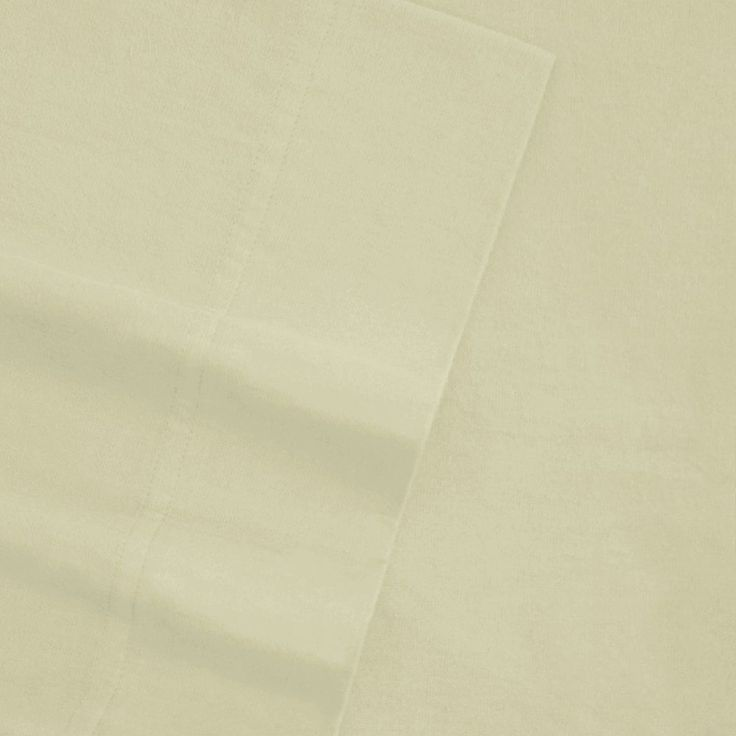 Sateen 600-Thread Count Egyptian Cotton Deep-Pocket Sheets, Natural Cal King