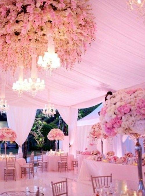 2014 pastel pink wedding tent, romantic wedding tent decor, flower decor for beach wedding www.dreamyweddingideas.com