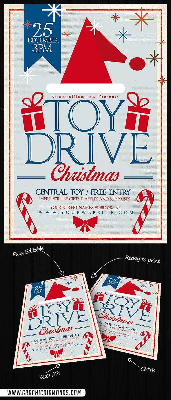 best images about toy drive christmas parties toy drive christmas flyer