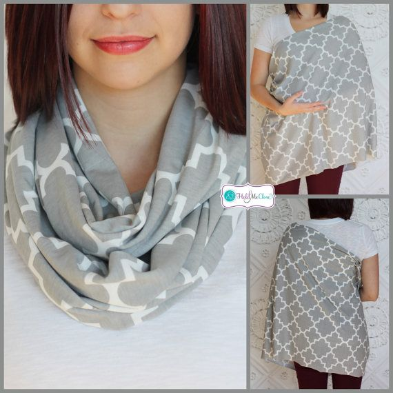 Tired of using those uncomfortable, hard to use nursing covers? Well here is your stylish solution! The Hold Me Close Nursing Scarf