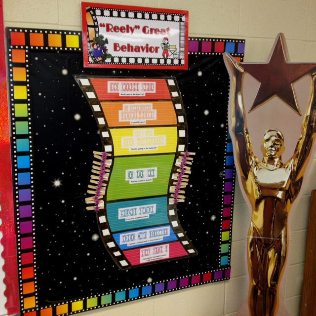 Redecorating My Classroom With A Hollywood Theme! Here's