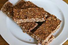 Gezonde Snickers: havermout repen met pindakaas, cacao, honing en banaan!
