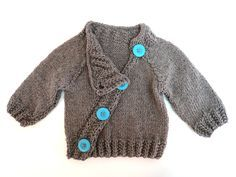 Chic for my sweet baby sweater. $70.00, via Etsy.