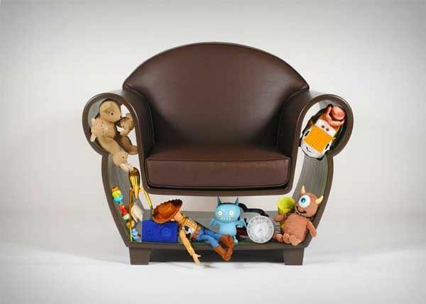 Kinderzimmer Gestalten Möbel Sessel Design Braun Praktisch