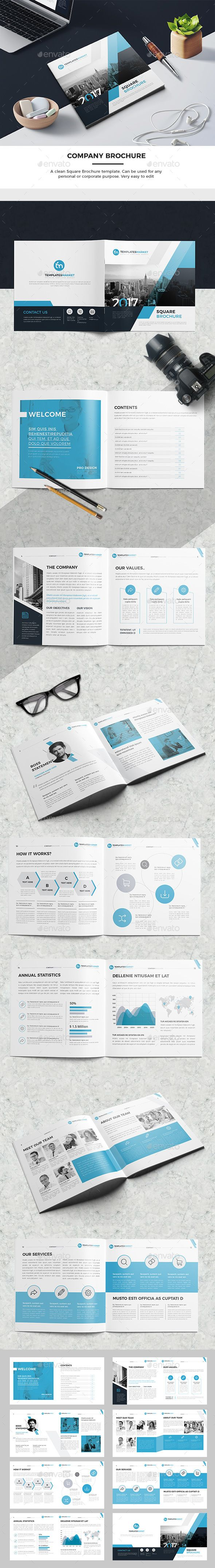 TM Square Company Brochure 16 Pages — InDesign INDD #brief brochure #200x200 • Download ➝ https://graphicriver.net/item/tm-square-company-brochure-16-pages/19552309?ref=pxcr