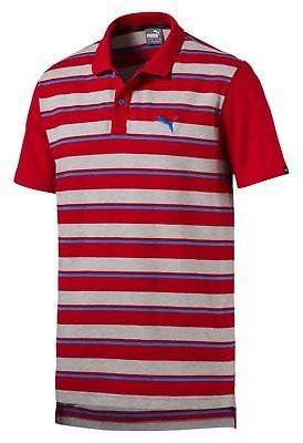 Puma Race Stripe Pique Polo Shirt